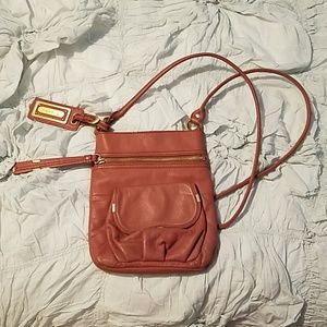 B. Makowsky Leather Crossbody